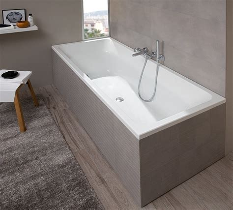 vasca da bagno rettangolare vasca da bagno rettangolare in ceramica da incasso avento