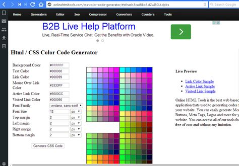 css for font color font color css css colors css tutorial by wideskills