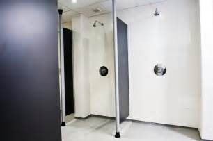 Shower Head On Ceiling by Washroom Modesty Screens Commercial Washrooms