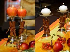 How To Decorate A Glass Vase Thanksgiving Table Decorations And Diy Centerpiece Ideas