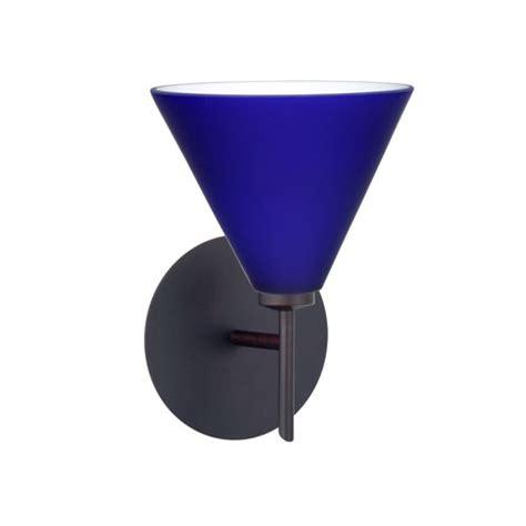 Blue Sconce cobalt blue sconce bellacor