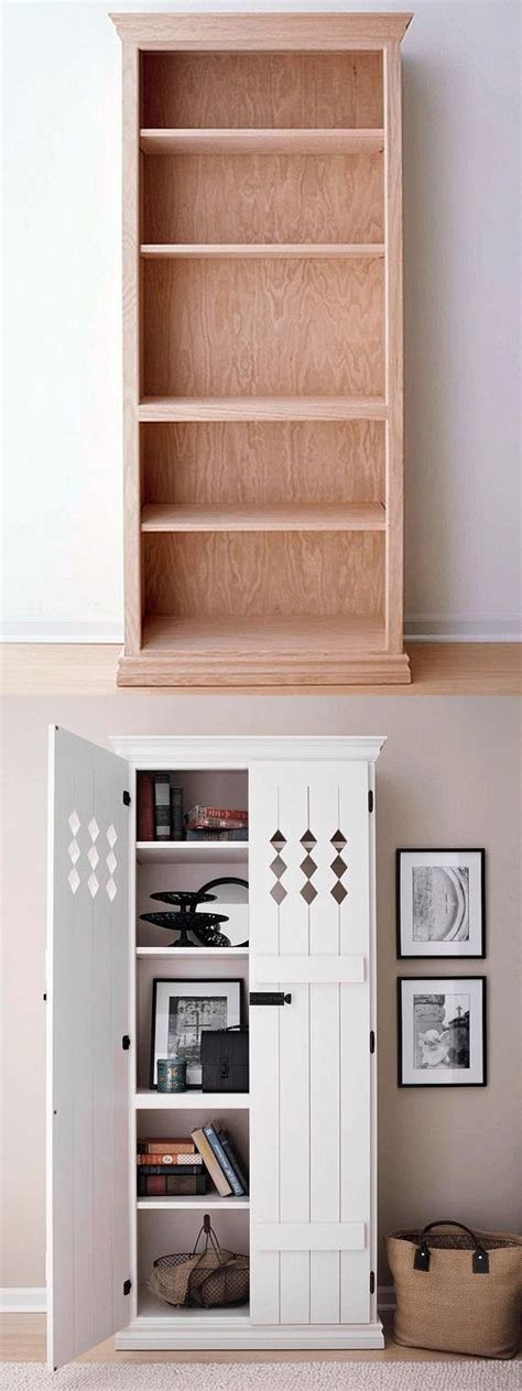 bolt bookcase to wall 13 beautiful bookcase makeovers beautiful the doors and