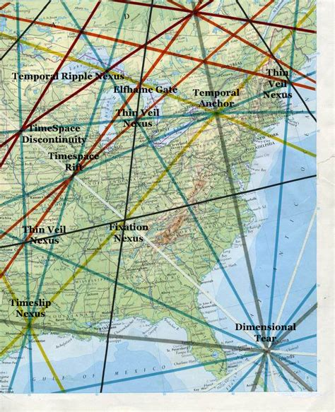 ley lines map usa map usa ley lines free map collection for your trip