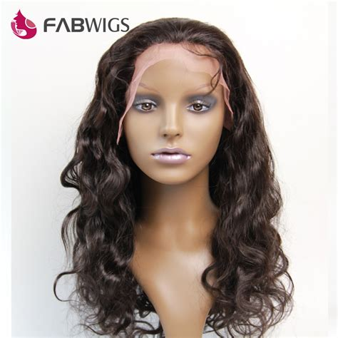 Wig And Hair Extension Tipe 2 Import india remy lace front wig with baby hair wave glueless human hair wig 10 20 quot lace