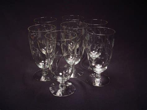 Princess House Glassware by Princess House Heritage Glassware Iced Tea Glasses