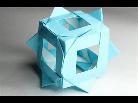tadashi mori origami origami and cubes on