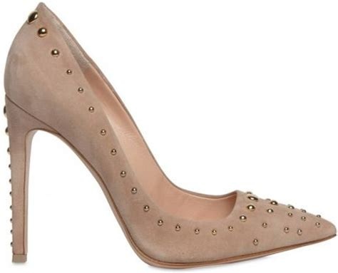 Sale Pedro Pointy Heels Ori gianvito 100mm suede studded pointy pumps in