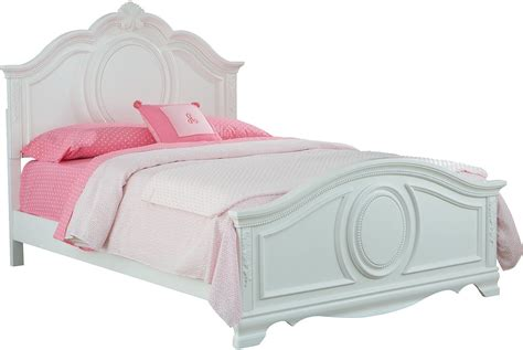 kids white twin bed jessica twin bed the brick