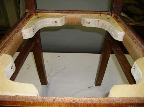 restaurare sedie come restaurare una sedia sbottitura incollaggio e rinforzi