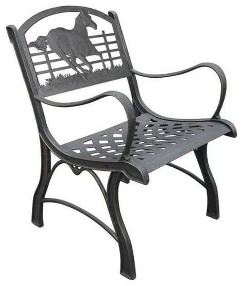 Cast Iron Lounge Chairs by Cardinal Cast Iron Chair Farmhouse Outdoor Lounge