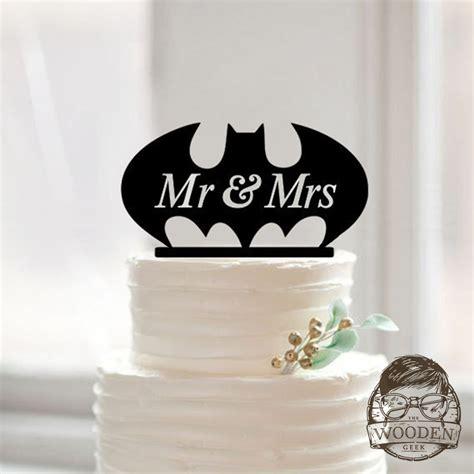 Topper Batman I bat wedding cake topper the wooden