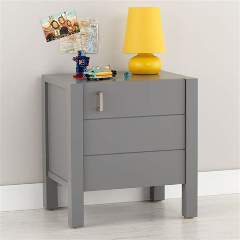 Grey Nightstand Nightstands Bedside Tables The Land Of Nod