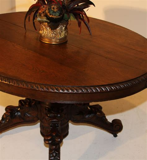 antique oval dining tables for sale carved oval dining hunt table henry ii antique