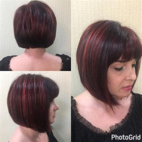edgy red hairstyles short hair with bangs 25 most popular hairstyles for