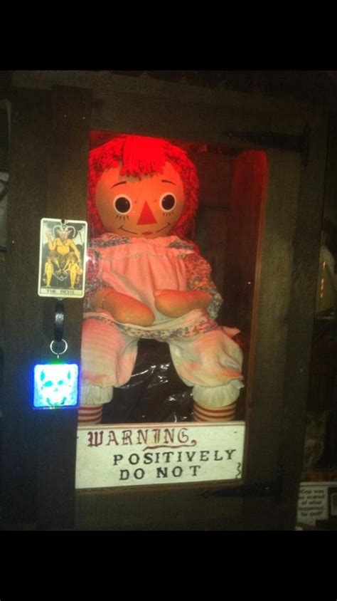 annabelle doll 9 michael fabiano on quot my buddy chris took this