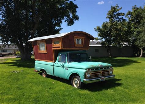 truck house 1966 ford f100 gypsy cer house truck