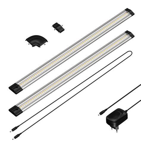 leuchten led led unterbau leuchte siris flach je 50cm 100cm kabel