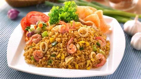 resep nasi goreng seafood resep metro