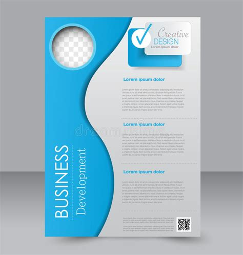 editable brochure templates free flyer template brochure design a4 business cover stock