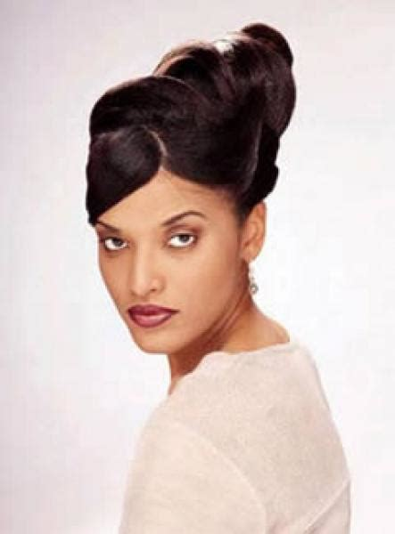 updo hair with weave for black people updo hairstyles black hair