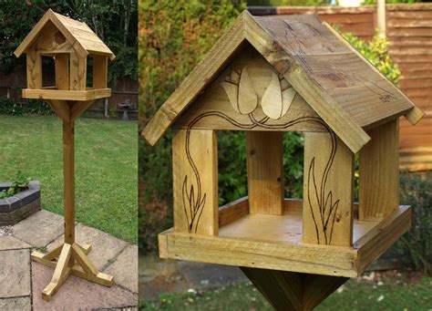 bird table designs free bird cages