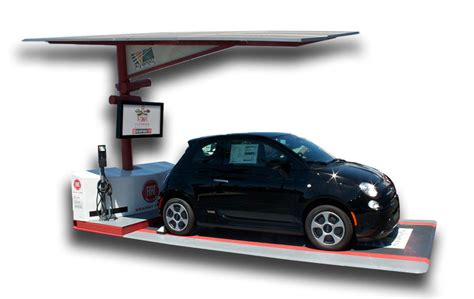 fiat kearny mesa fiat launches solar ev charger in san diego 95 octane