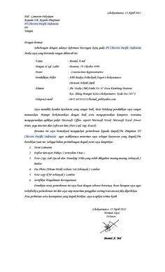 contoh surat lamaran kerja di apotek 7 surat lamaran kerja akuntansi dalam bahasa inggris