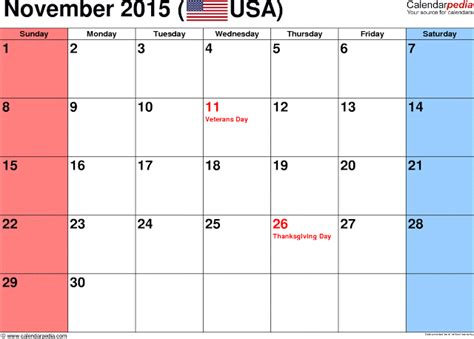 printable calendar november 2015 uk november 2015 calendar with holidays printable calendar
