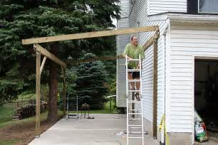 with that done building the carport seemed breeze since already attached how build