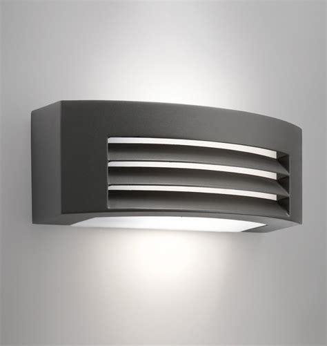 Philips Outdoor Lighting Philips 17105 93 16 Fragrance Ecomoods Outdoor Aluminium 20w E27 230v Wall Light