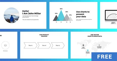 business strategy powerpoint template free presentation