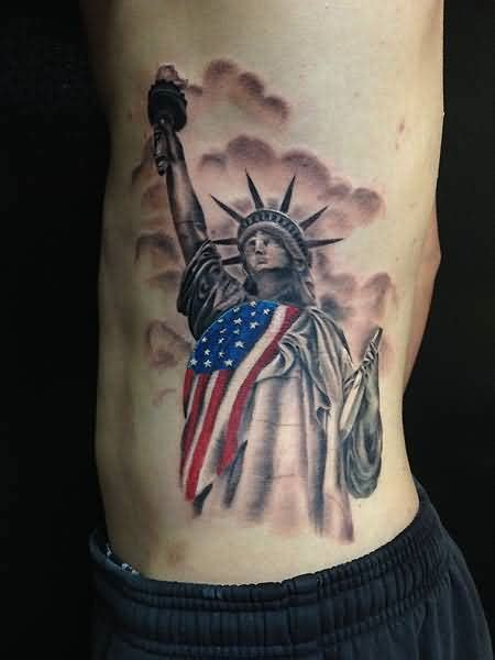 liberty tattoos 30 awesome statue of liberty tattoos