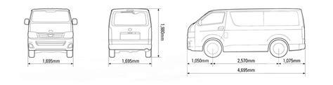 hyundai iload cargo dimensions elrizk auto toyota hiace