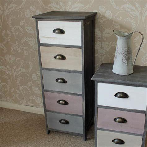 grey tall boy dresser wooden tall boy storage unit chest pink grey bedroom