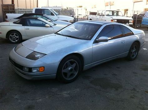 nissan 300zx 2000 sell used 1990 nissan 300zx rebuildable in los alamitos