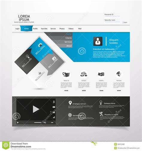 https www template net design templates card templates sle postcard web design elements templates for website stock