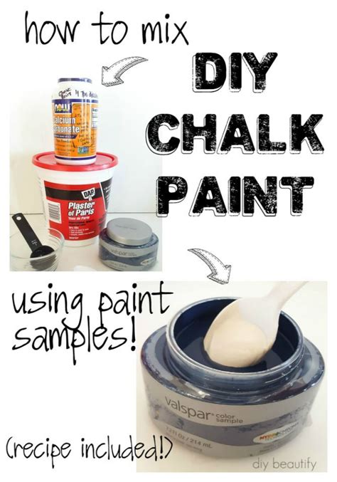 chalkboard paint using plaster of how to make diy chalk paint using store sles