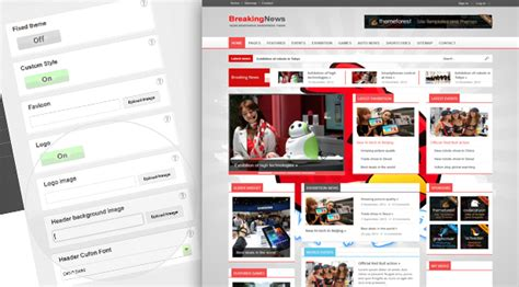 newspaper theme wordpress documentation breakingnews responsive wordpress theme themes4wp