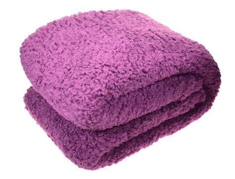 soft teddy fleece blanket cosy sofa bed luxury