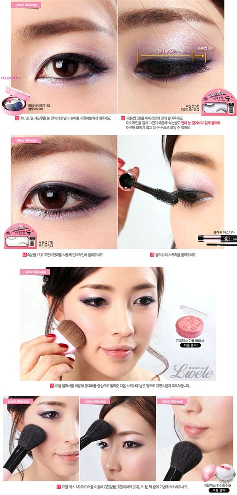 tutorial make up ala korea step by step 118 best asian makeup images on pinterest