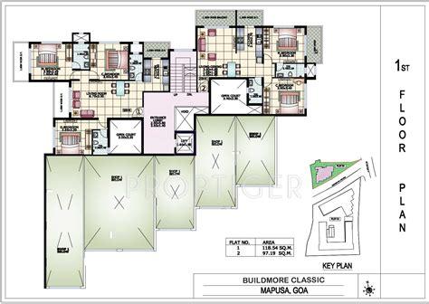 classic floor plans 1099 sq ft 2 bhk 2t apartment for sale in buildmore