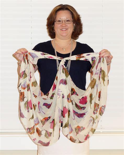 Scarf Vest 1 s boutique how to tie a scarf into a vest