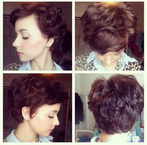 hairstyles for poofy short hair wavy pixie short hair too poofy hair fancies