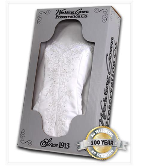 wedding gown preservation co wedding gown preservation kit