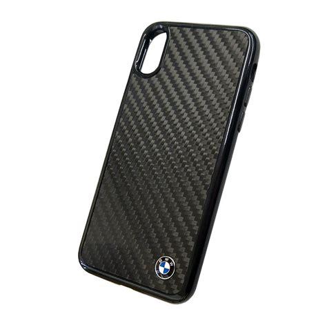 bmw signature real carbon fiber дизайнерски карбонов кейс за iphone xs iphone x