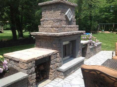 firepit construction outdoor pit design new jersey stonetown construction