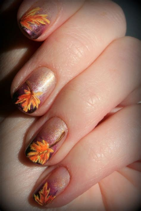 fall nail colors and designs fall nail designs trends ideas for