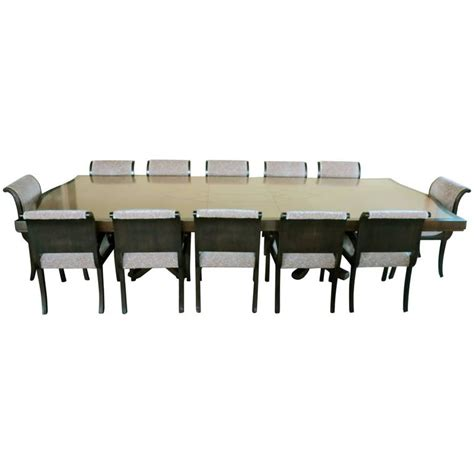 12 chair dining room set enrique garcel custom made dining table 12 chairs deco