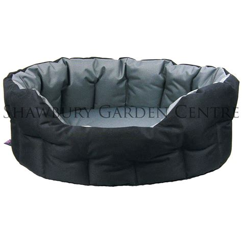 heavy duty dog beds p l heavy duty oval waterproof softee dog bed