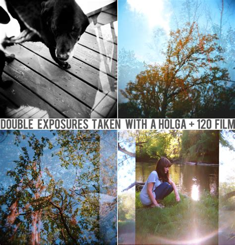 holga double exposure tutorial bubby and bean living creatively tutorial gt gt create